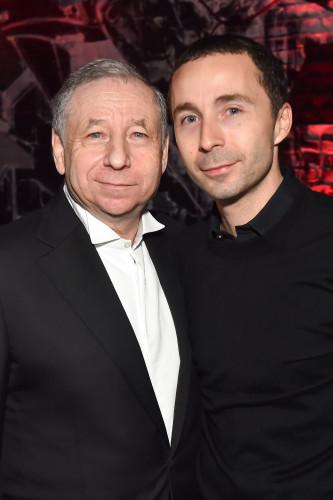 Jean Todt et son fils Nicolas Todt