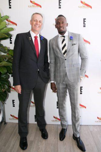Mumm Melbourne Cup - Usain Bolt & Bryan Fry