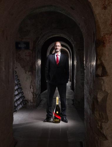 Didier Mariotti Cellar Master of Maison Mumm