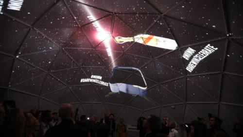 Mumm Grand Cordon Stellar under the dome