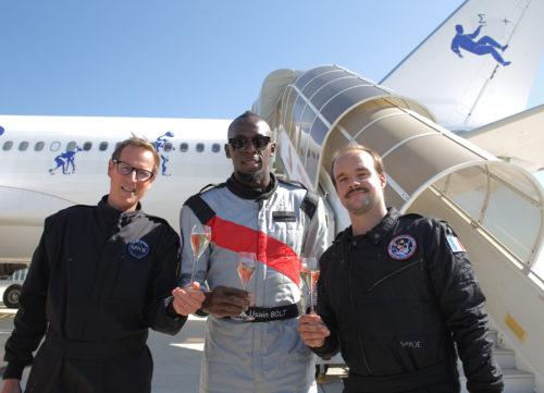 Quentin Meurisse Usain Bolt et Octave de Gaulle