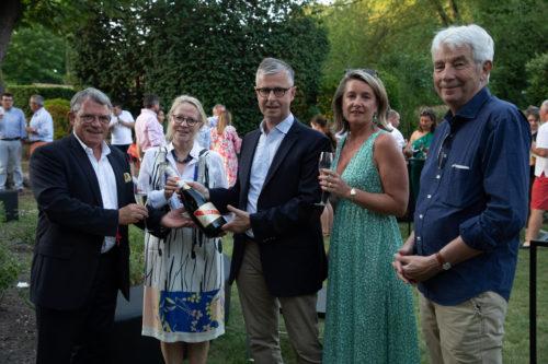 Michel Letter Claire Taittinger Christophe Danneaux Caroline Bonte et Jean Philippe Collard
