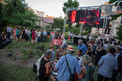 Garden Party pour feter les 30 ans du mecenat chez Mumm