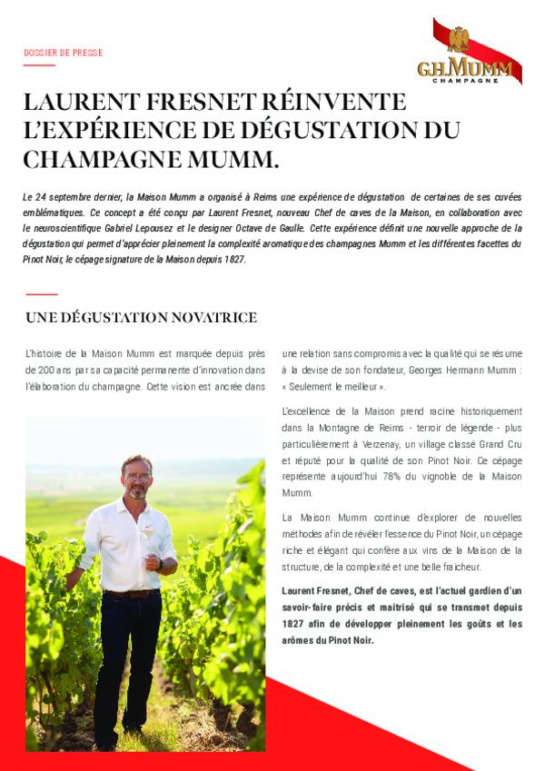 Mumm experience degustation - FR-pdf